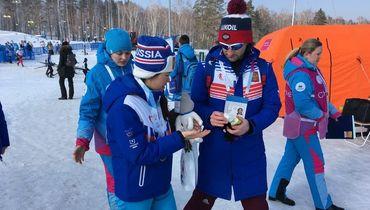 Удачный день для лыжников на Универсиаде