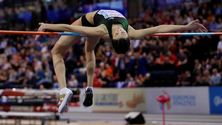 3 марта. Глазго. Мария Ласицкене выигрывает чемпионат Европы в помещении. Фото Reuters