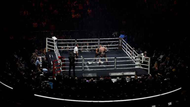 Боксерский поединок. Фото AFP