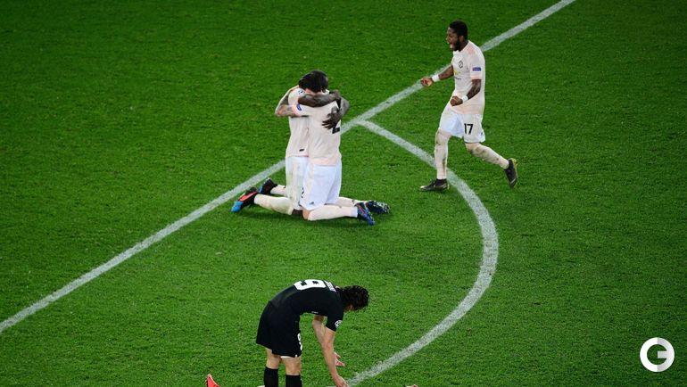 """6 марта. Париж. """"ПСЖ"""" - """"Манчестер Юнайтед""""- 1:3. Эмоции после матча."""