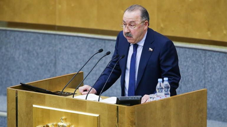 Валерий Газзаев. Фото Антон Новодережкин, ТАСС