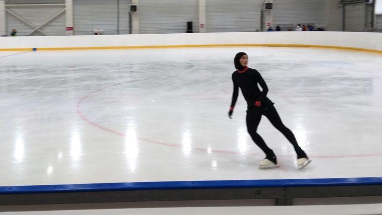 """Захра Лари: тренировка в Красноярске. Фото Егор Бычков, """"СЭ"""""""