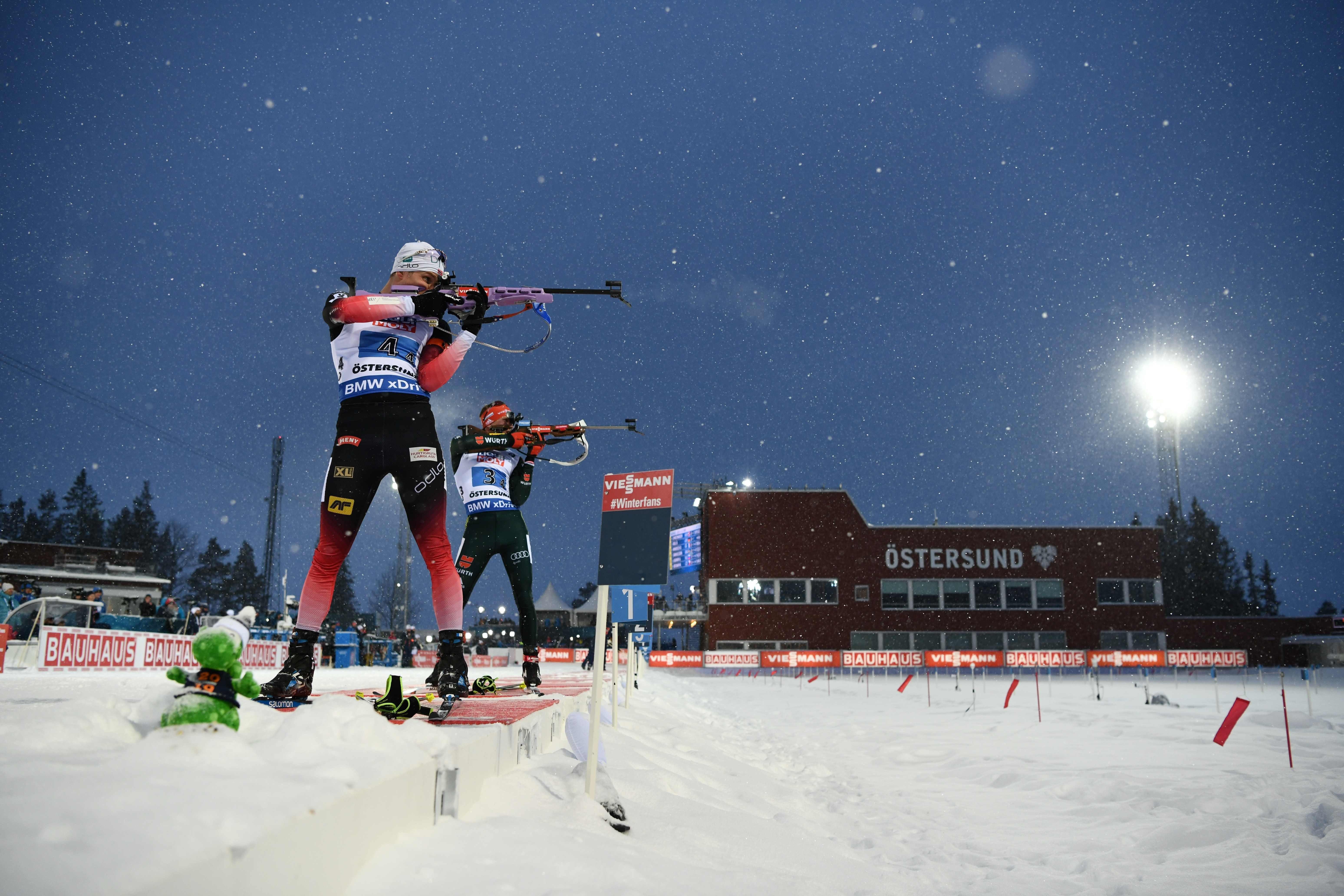 Россияне — четвертые в смешанной эстафете на Чемпионате мира по биатлону в Эстерсунде