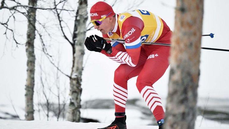 Александр Большунов. Фото AFP, AFP