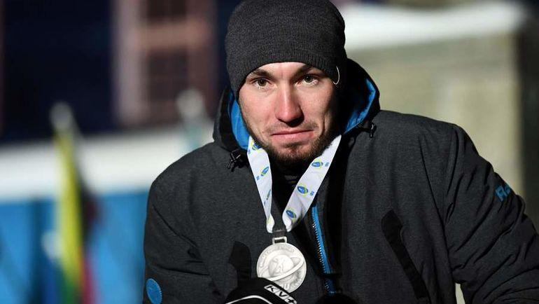 9 марта. Эстерсунд. Александр Логинов. Фото AFP