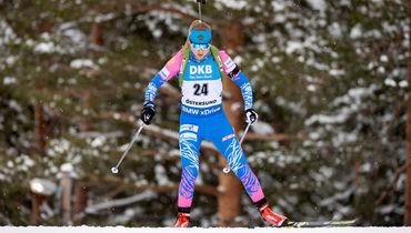 Российская биатлонистка Евгения Павлова заняла девятое место в гонке преследования, что она сказала