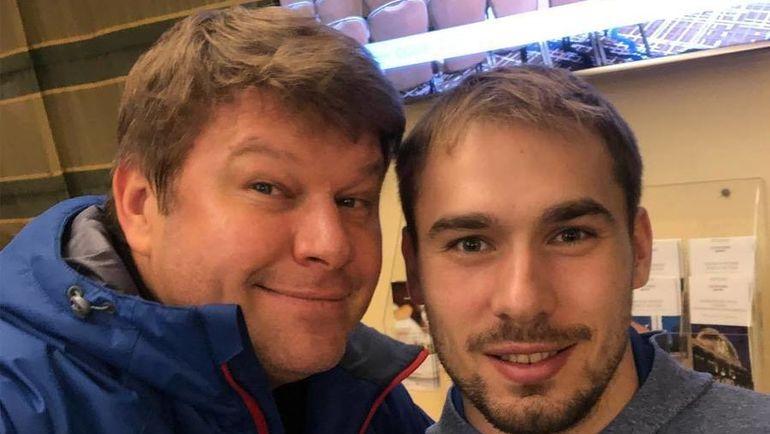 Антон Шипулин (справа) и Дмитрий Губерниев. Фото Инстаграм Дмитрия Губерниева