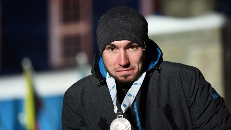 9 марта. Эстерсунд. Александр Логинов с серебром в спринте. Фото AFP
