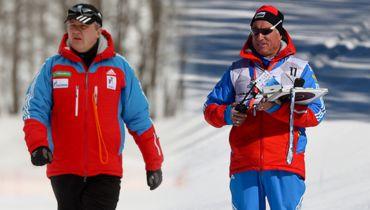 Скандал в сборной России на чемпионате мира по биатлону, противостояние тренеров