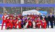 Шикарный праздник в Красноярске: золото и серебро