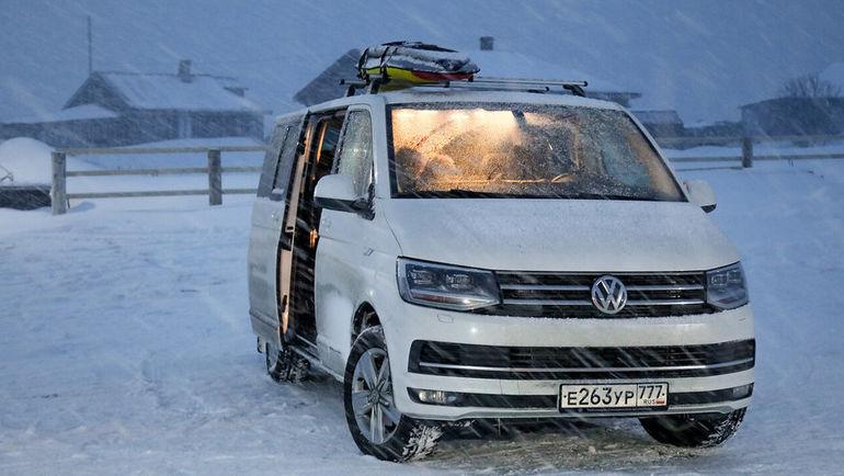 Volkswagen Multivan – незаменимый спутник в любом путешествии.