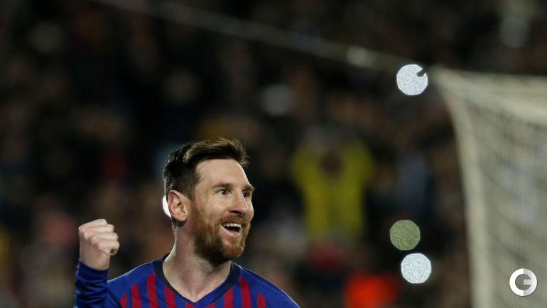 "13 марта. Барселона. ""Барселона"" - ""Лион"" - 5:1. Лионель Месси: два гола + две передачи."