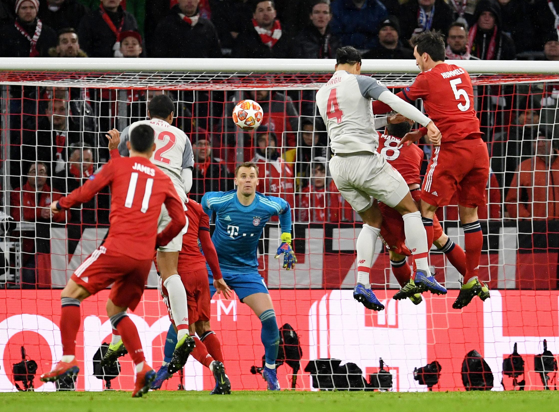 Бавария выиграла финальный матч лч по футболу