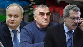 Юрий Нагорных, Валентин Маслаков и Григорий Родченков.