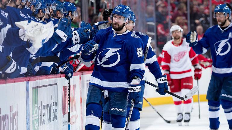 """15 марта. Детройт. """"Детройт"""" – """"Тампа-Бэй"""" – 4:5. Никита Кучеров. Фото NHL.com"""