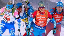 И Евгения Павлова, и Лариса Куклина, и Ирина Старых, и Ульяна Кайшева (слева направо), и другие биатлонистки сборной России столкнулись в этом сезоне с проблемами со здоровьем.