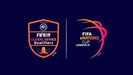 Логотип FIFA eNations Cup 2019.