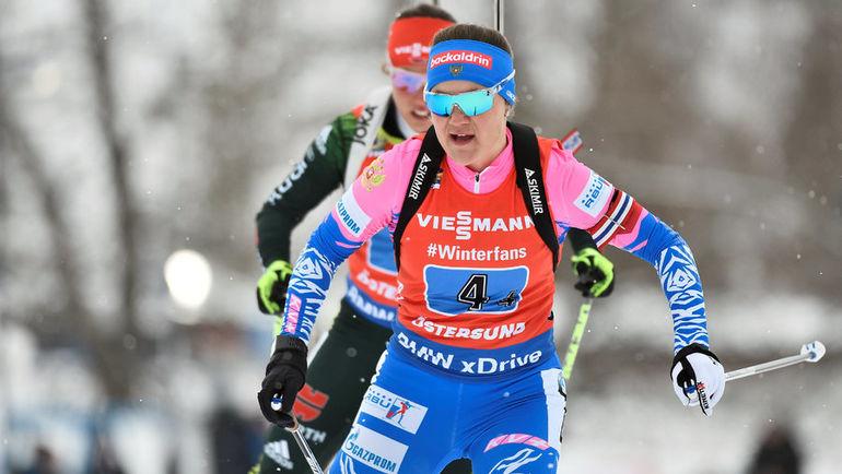 16 марта. Эстерсунд. Екатерина Юрлова-Перхт. Фото AFP