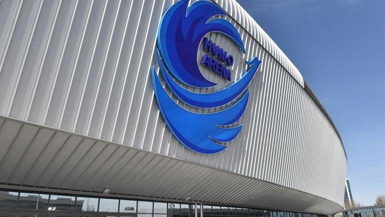 """Многофункциональная ледовая арена """"Хумо"""". Фото Баходир Саидов"""