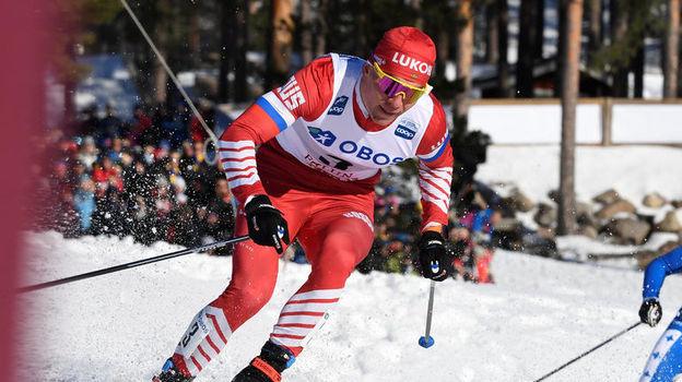 16 марта. Фалун. Александр Большунов. Фото AFP