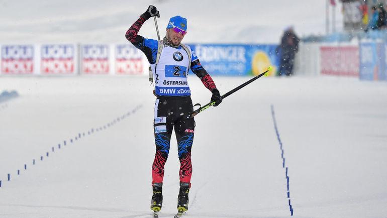16 марта. Эстерсунд. Бронзовый финиш Александра Логинова. Фото AFP