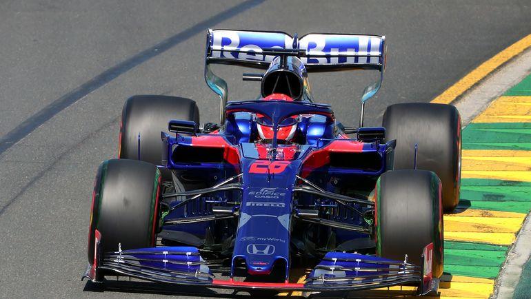 17 марта. Мельбурн. Даниил Квят заработал очко в первой же гонке. Фото AFP