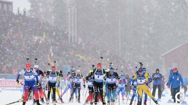 17 марта. Эстерсунд. Масс-старт. Фото AFP