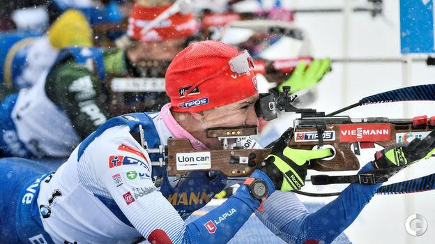 17 марта. Эстерсунд. Масс-старт. Словацкая биатлонистка Анастасия Кузьмина. Фото Reuters