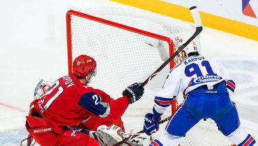 Плей-офф КХЛ второй раунд Запада Локомотив выиграл у СКА дома 3:1 и сократил отставание в серии 1-2