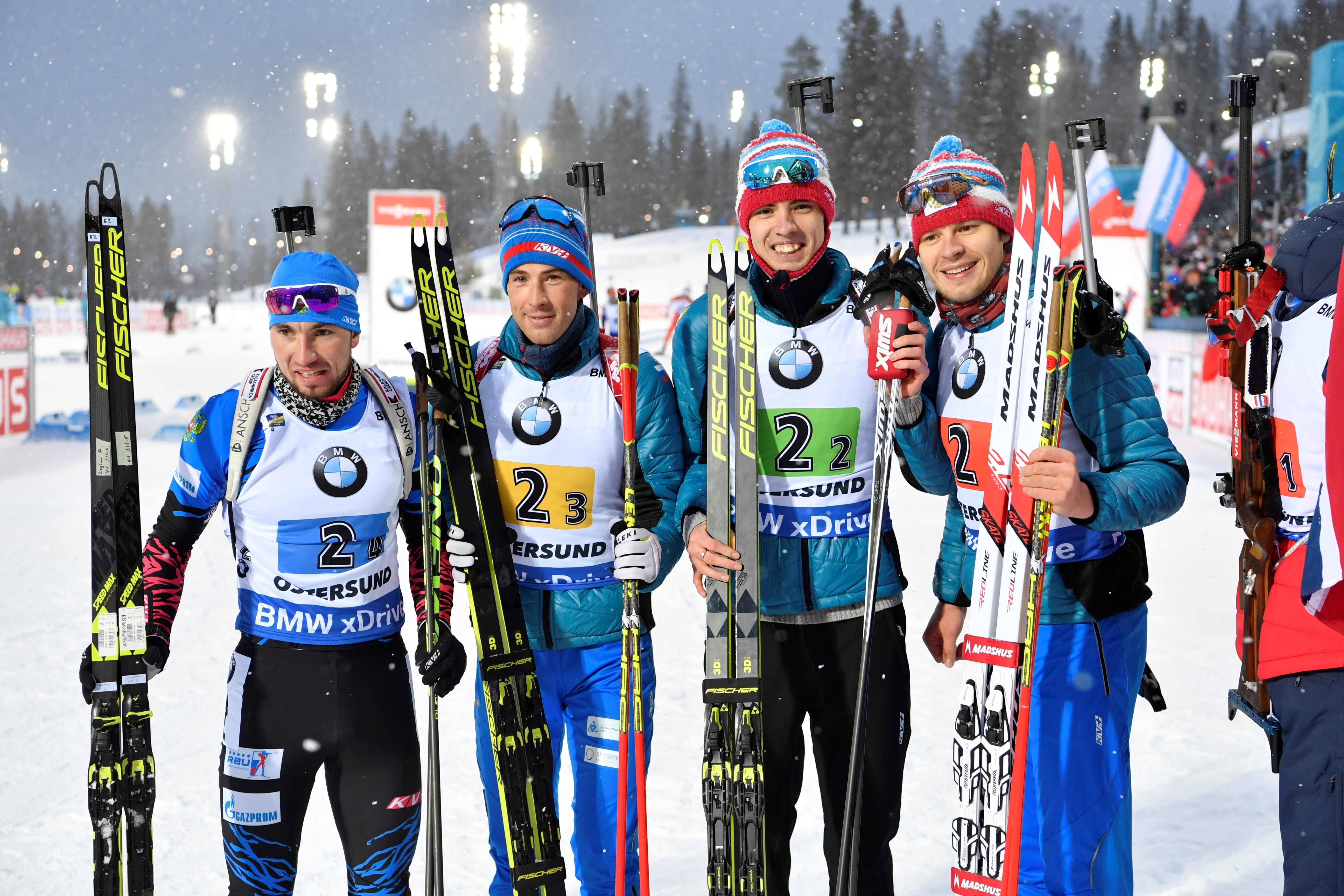 Чемпионат Европы по биатлону 2019 — состав сборной России