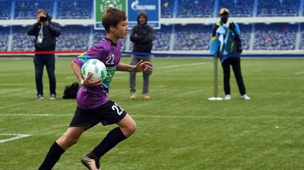 Началось главное мировое событие в детском футболе! Фото facebook.com/FootballForFriendship/
