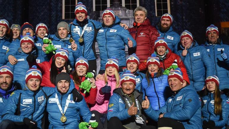 С чемпионата мира в Эстерсунде на этап мирового Кубка в Холменколлене сборная России добиралась на автобусе около восьми часов. Фото Instagram
