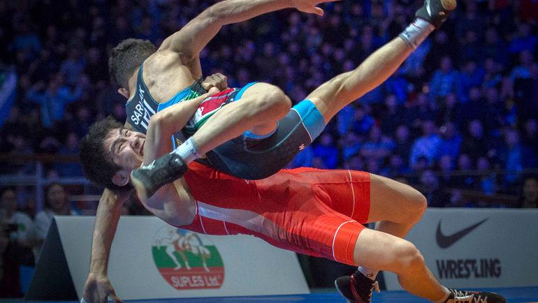 Арыйан Тютрин в финале КМ-2019. Фото Александр Орешников.