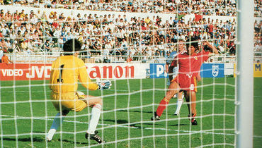 15 июня 1986 года. Леон. СССР – Бельгия – 3:4. Энцо Шифо забивает гол.