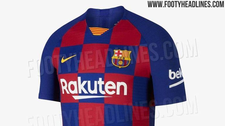 """Новая форма """"Барселоны"""". Фото Footy Headlines"""