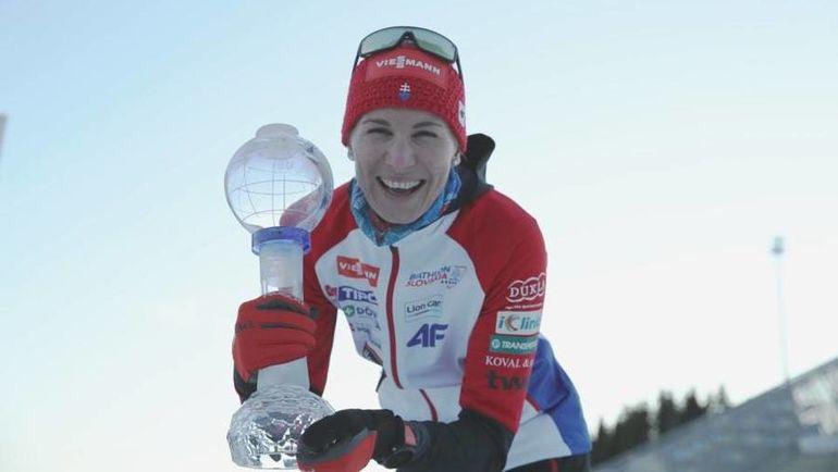 Анастасия Кузьмина. Фото biathlonworld.com