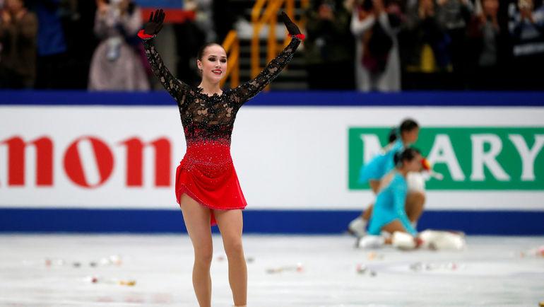 22 марта. Сайтама. Алина Загитова. Фото REUTERS