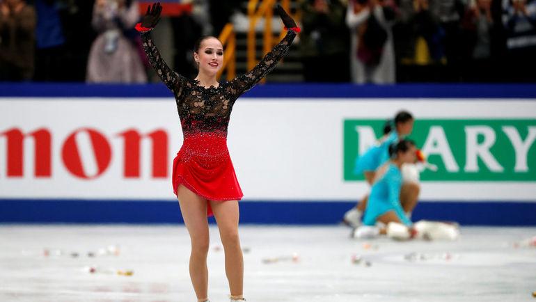 22 марта. Сайтама. Алина Загитова - чемпионка мира! Фото REUTERS
