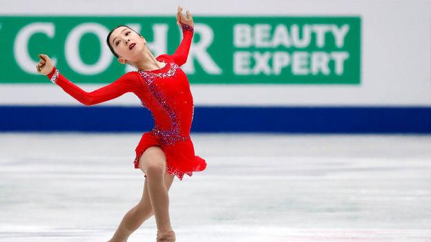 22 марта. Сайтама. Элизабет Турсынбаева. Фото Reuters