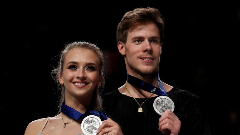 23 марта. Сайтама. Виктория Синицина и Никита Кацалапов. Фото Reuters