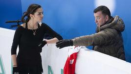Евгения Медведева и Брайан Орсер.