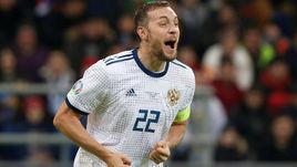 24 марта. Нур-Султан. Казахстан - Россия - 0:4. Артем Дзюба.