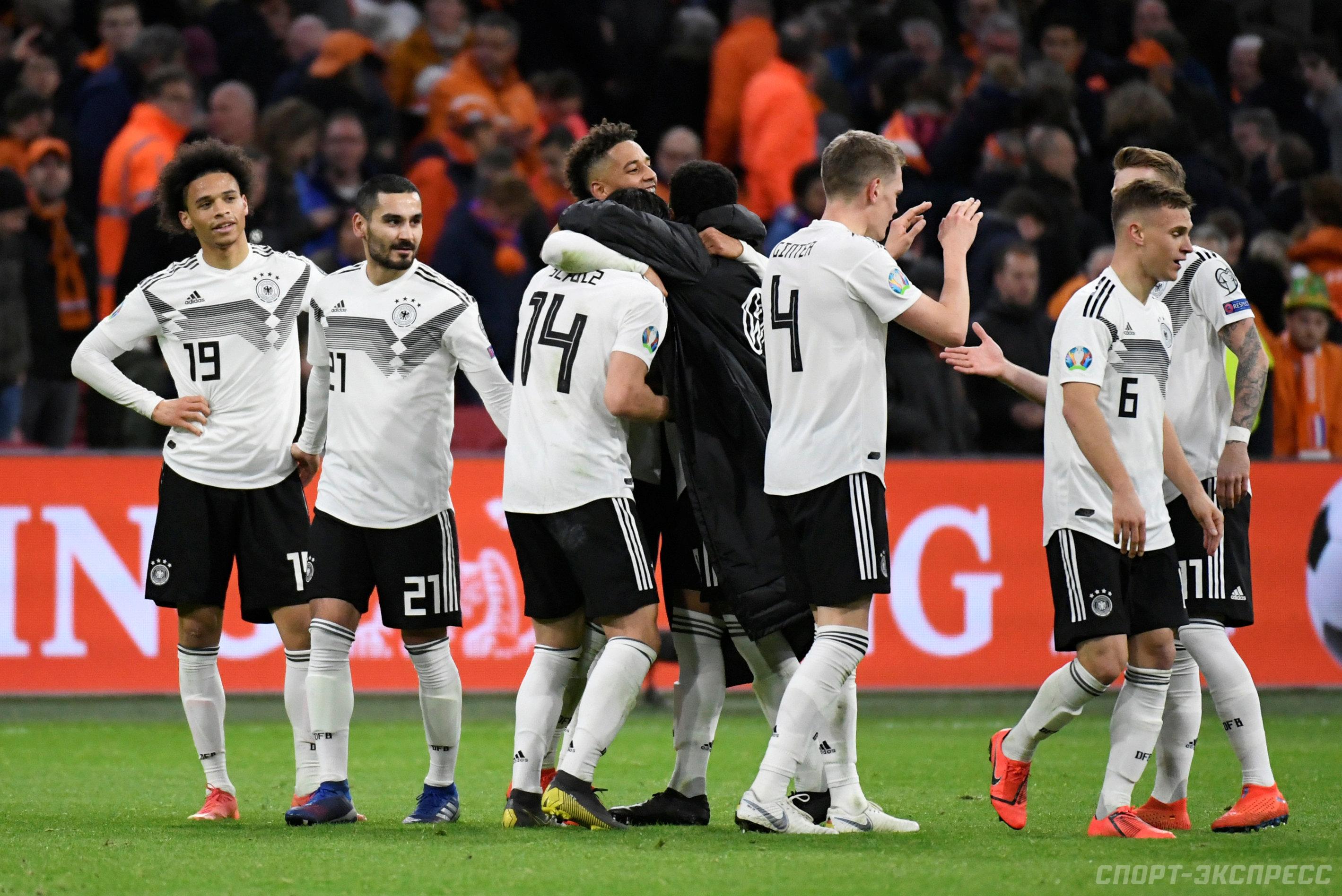 Официальный сайт немецкой сборной по футболу