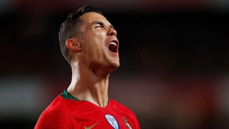 25 марта. Лиссабон. Португалия - Сербия - 1:1. Криштиану Роналду был заменен из-за травмы.