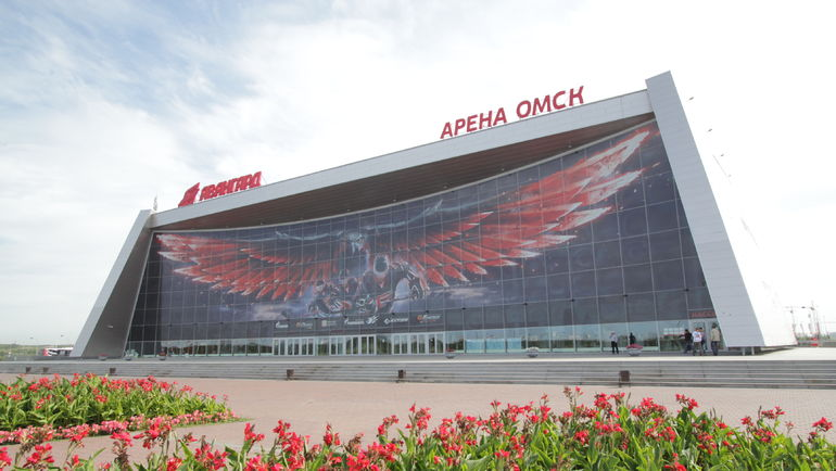 """""""Арена Омск"""". Фото Валерий Гашшев"""