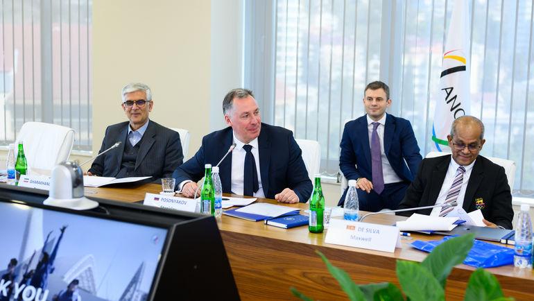 Заседание комиссии по образованию и культуре Ассоциации национальных олимпийских комитетов. Фото ОКР