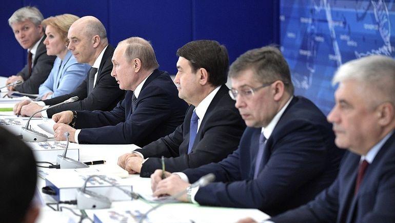 Заседание Совета при Президенте по развитию физической культуры и спорта. Фото kremlin.ru