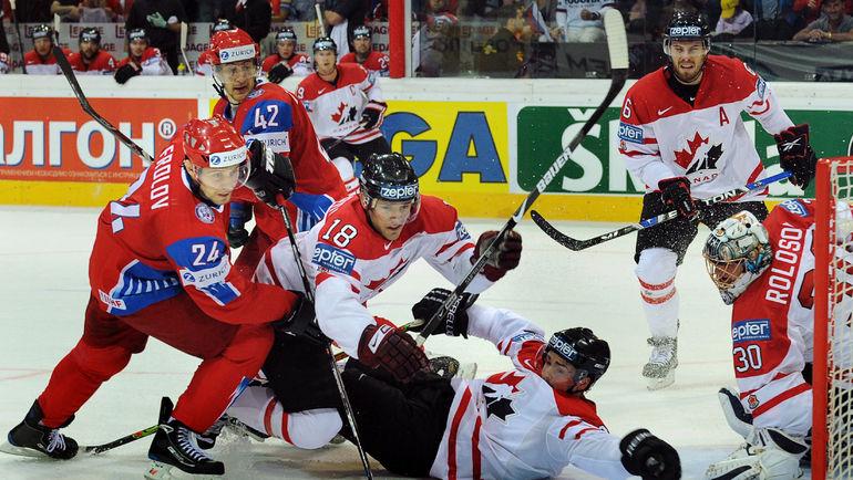 В 2009-м Александр Фролов (№24) выиграл ЧМ со сборной России. Фото AFP