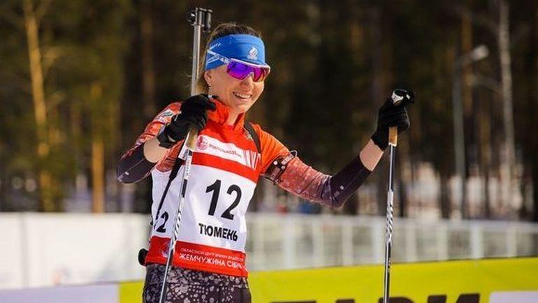 Екатерина Глазырина. Фото biathlonrus.com
