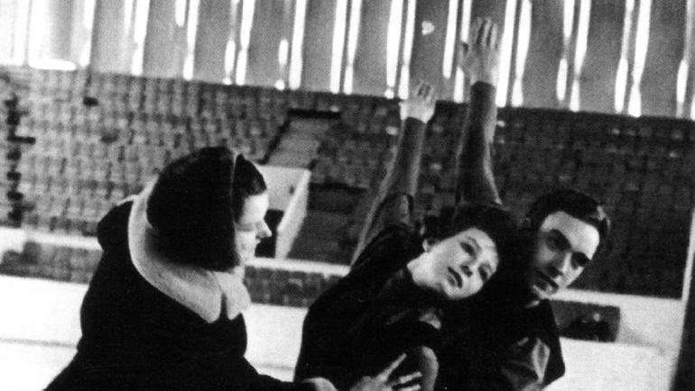 Татьяна Тарасова и Георгий Проскурин с Еленой Чайковской. Фото из архива семьи Чайковских